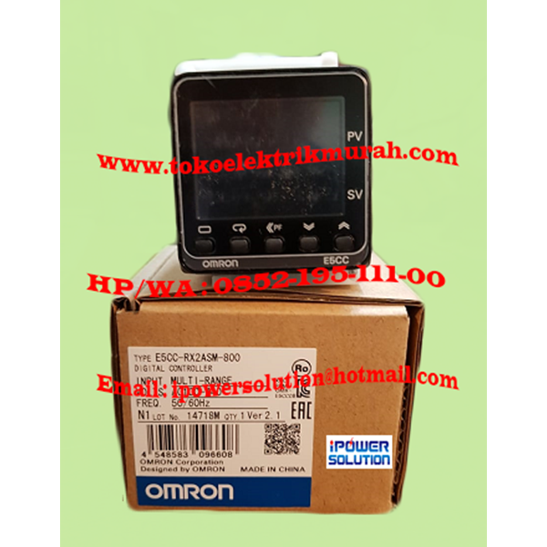 OMRON E5CC-RX2ASM-800  Digital Temperature Control