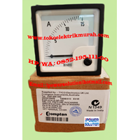 Jual Amperemeter Crompton E243-01A-G-ND-ND 2