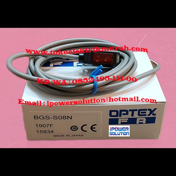Optex Photo Sensor BGS-S08N