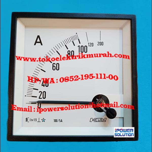 Ampermeter Circutor EC 96 5A