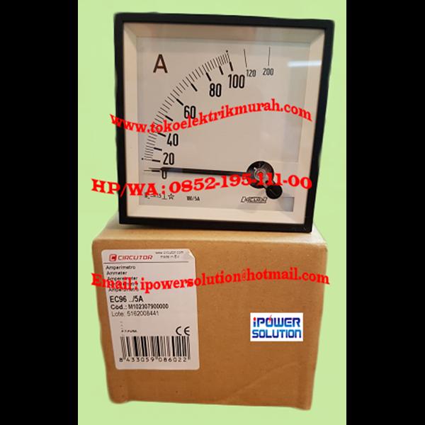 Ampermeter  EC 96 5A Circutor