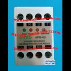 Voltage Protective Relay  APR-4D 5A  OTTO 2
