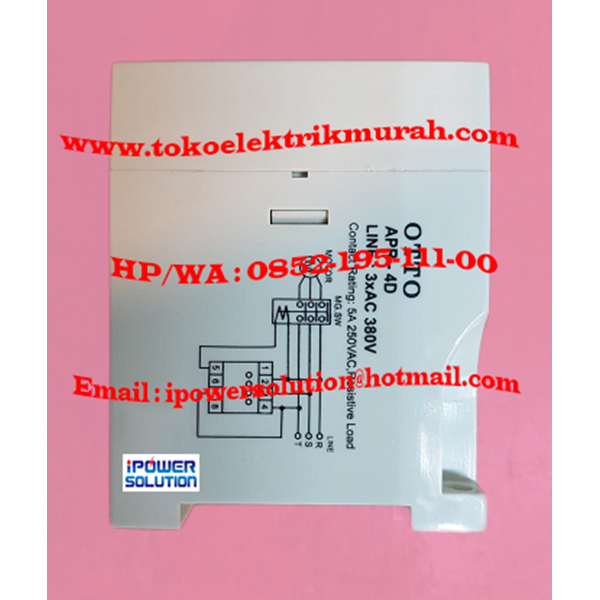 OTTO APR-4D 5A Voltage Protective Relay