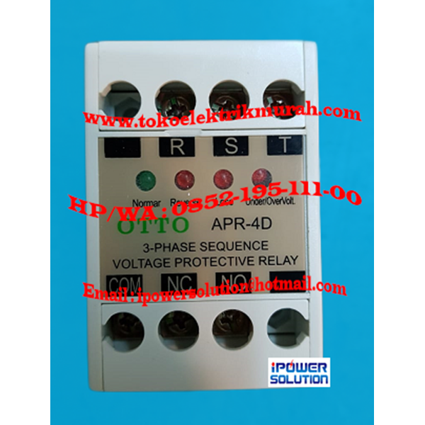 OTTO Voltage Protective Relay APR-4D 5A