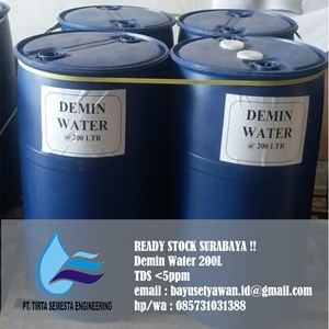 Air Demin / Demin Water/ Demineralizer Water Surabaya
