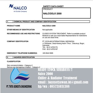 Nalco 2000 Water Treatment Lainnya