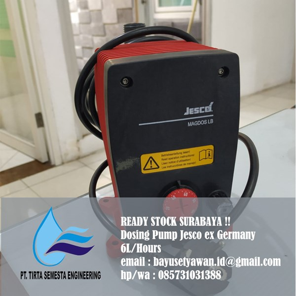 Jual Dosing Pump Jesco 6L/Jam Surabaya