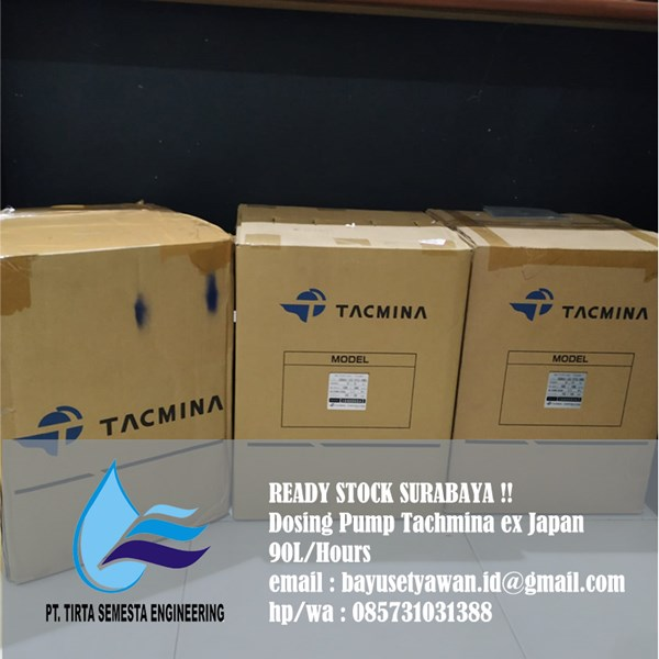 Jual Dosing Pump Tacmina Surabaya