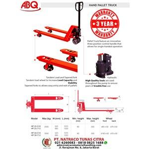 Hand Pallet Abq Hp 25 - 712