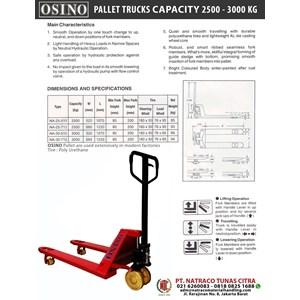 Hand Pallet Osino Na 25 - 510