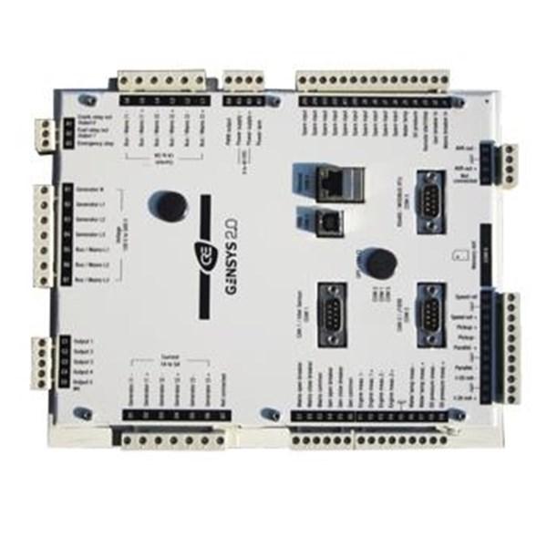 Modul Parallel Genset Gensys 2.0 CORE unit kontrol untuk semua-dalam-satu kontrol gensent & paralel Unit terintegrasi dengan PLC