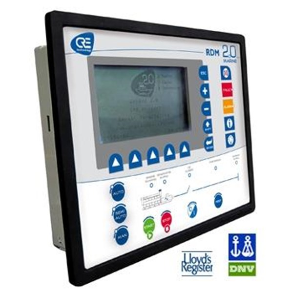 Modul Kontrol Genset RDM2.0 MARINE Remote display module for all-in-one genset control and paralleling unit