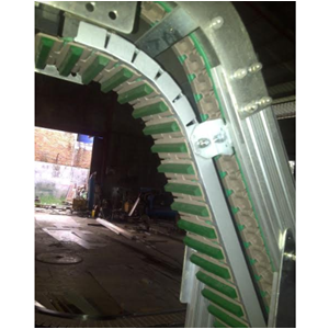 Incline and Curve Conveyor