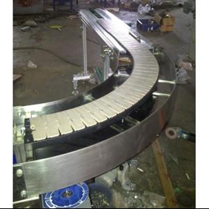 Top Chain Curve Conveyor