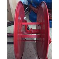 Dari Hose Reel Manual Swing Model Hydrant Gulungan Selang Pemadam Kebakaran 1