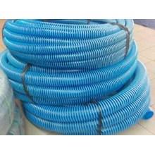 selang industri selang spiral biru plastik