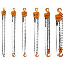 hand chain hoists lever hoists trolley hoists