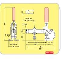 Beli Clamp JS Toggle Clamp Vertical Handle V130L MAX 227kg 4