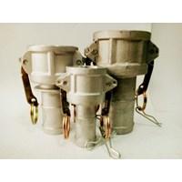 Jual Camlock aluminium type C tipe C 100 C 150 C 200
