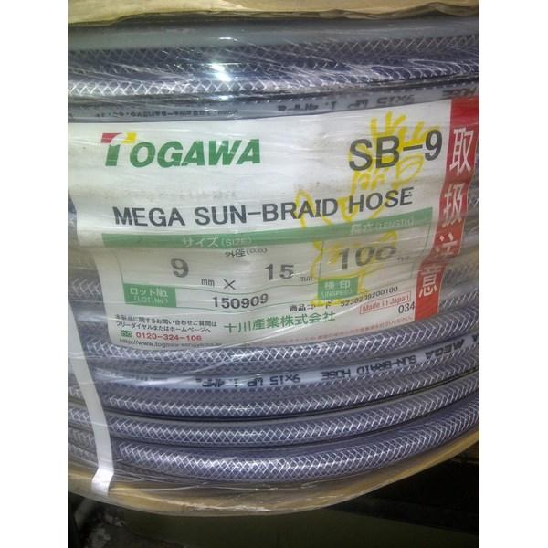 togawa mega sun braid selang benang togawa japan selang air import jepang