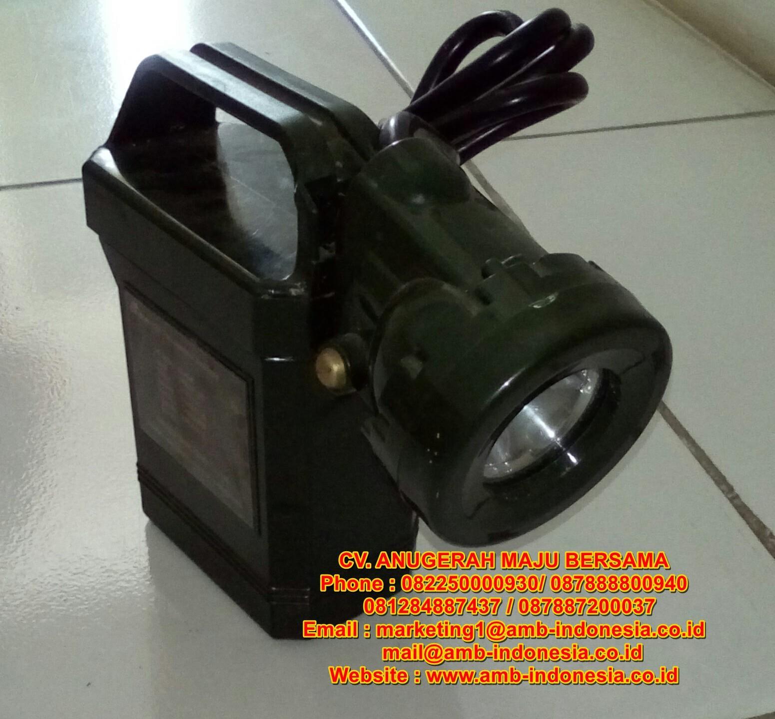 Jual Lampu Senter Explosion Proof LED Rechargeable Qinsun