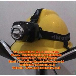 Lampu Senter Led Head Lamp Explosion Proof Rechargable
