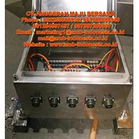 Box Panel Explosion Proof Stainless Steel Warom BXJ-S Terminal Box Murah 5