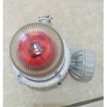 Lampu Rotary HELON BBJ Series LED Explosion Proof Audio And Visual Caution Spotlight Fittings