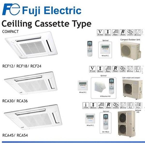 AC Fuji  electric ceiling cassette RCF 12