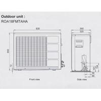 Jual AC Fuji Electric Split Air Conditioner 2 PK RSA18FMTA-A ROA18MTAHA 2