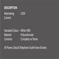 Distributor Saklar BΩSS 4 Gang 1 Way Switch BT1034/1/2A 3
