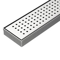 Distributor Aer Saringan Pembuangan Air Di Lantai Linear - Linear Floor Strainer Lfs 02 Ss 70 Cm 3