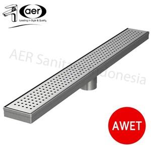 Aer Saringan Pembuangan Air Di Lantai Linear - Linear Floor Strainer Lfs 02 Ss 70 Cm