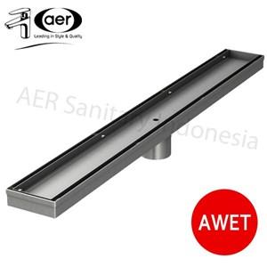 Aer Saringan Pembuangan Air Di Lantai Linear - Linear Floor Strainer Lfs 04 Ss W 70 Cm