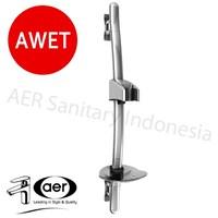 Aer Swivel Railing Bar - Hanger Tembok Hand Shower D-34 1