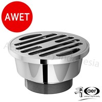 Air Brass Floor Strainer - Pembuangan Air Lantai Sa Chr 02 1