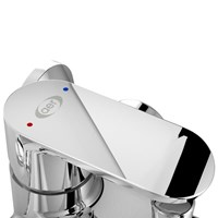 Beli Kran Mixer Bathub AER Shower Sas Bx2 Panas Dingin 4