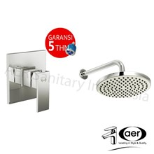 Aer Bundling Kran Tanam Shower Panas Dingin Ssv 01 Dan Wall Shower Ws-13