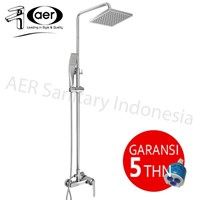 Aer Mixer Shower Set Panas-Dingin - Keran Ms-4 1