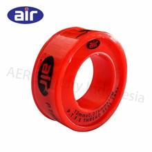 Air Seal Tape Seltip Solasi Drat Pipa Kran Ptfe Merah 10 Meter Selang Air