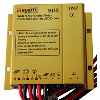 Jual Waterproof Solar charge controller with built in LED driver