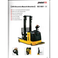 electric reach stacker hand pallet