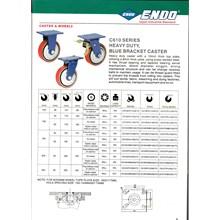 endo blue wheel bracket heavy duty