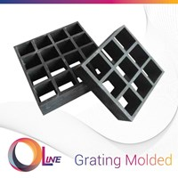 Jual FRP Grating Molded (fiberglass reinforced plastics)