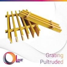 FRP Grating Pultruded (fiberglass reinforced plastics)