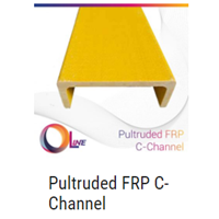 Pultruded FRP C-Channel