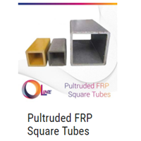 Jual Pultruded FRP Square Tubes