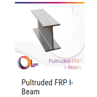 Pultruded FRP I-Beam 1