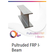 Pultruded FRP I-Beam