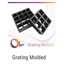 Grating Molded